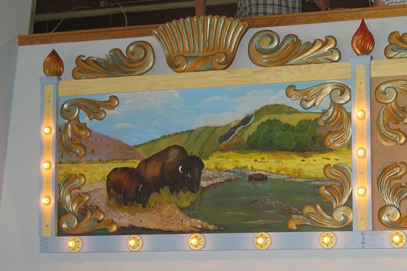 Carousel Rounding Boards - Buffalo panel