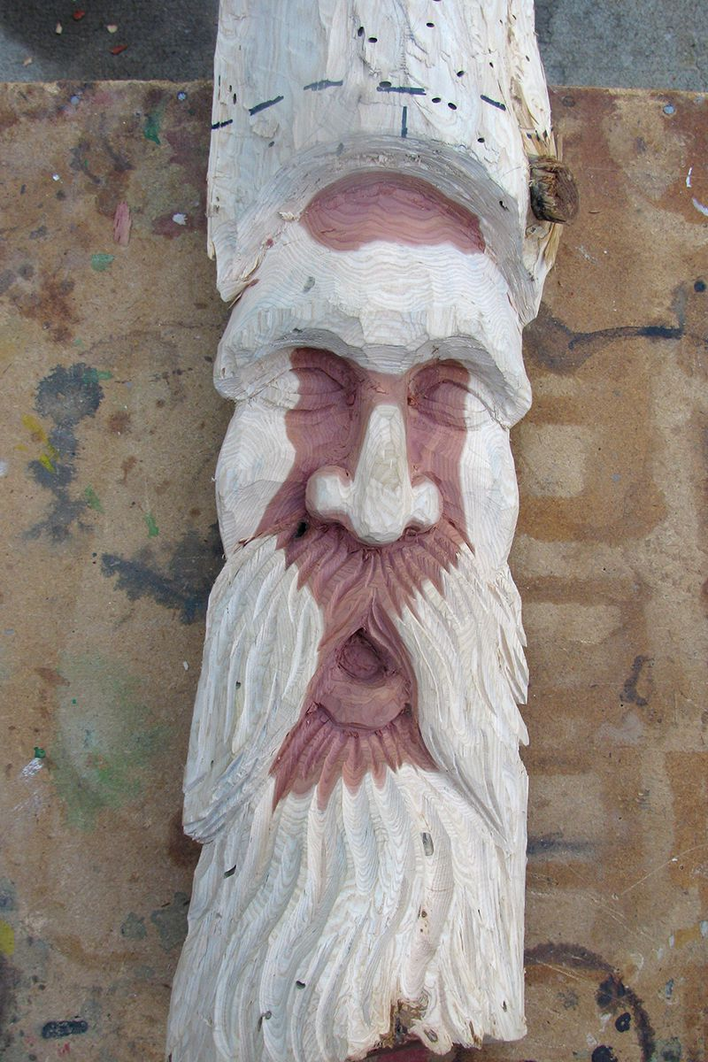 Wood Spirit 13