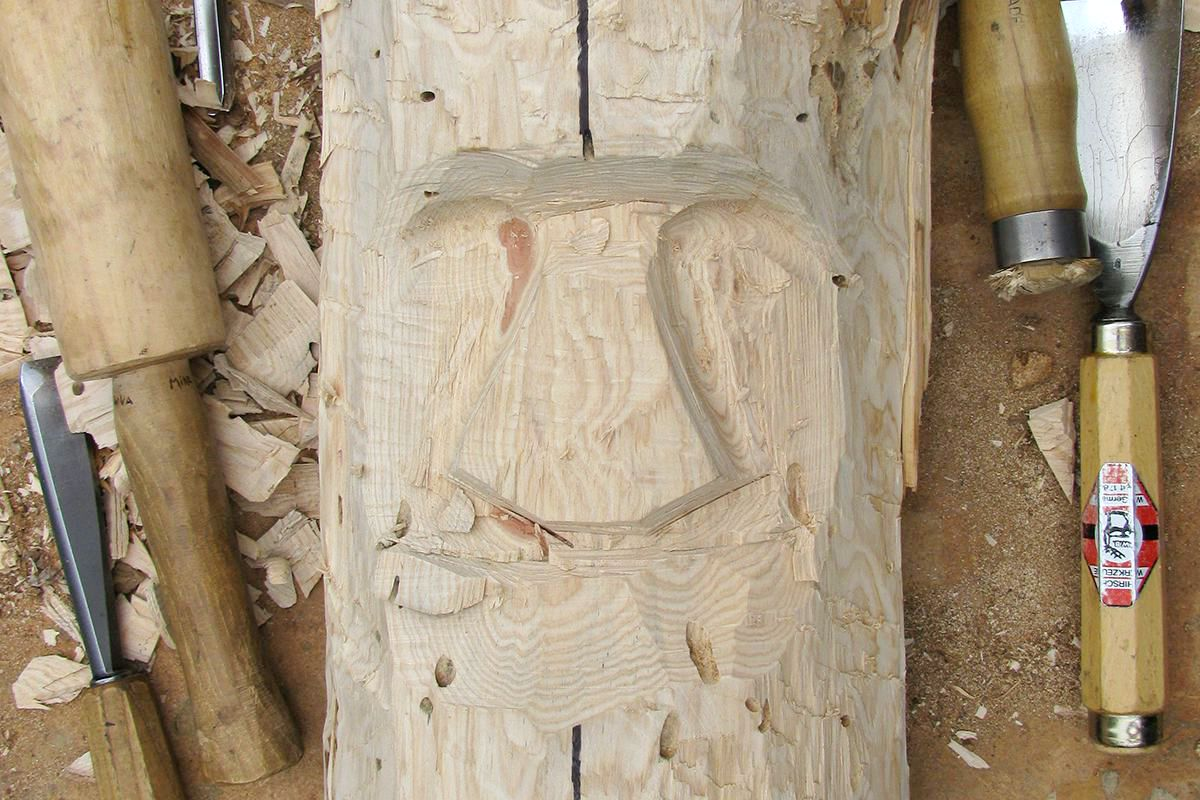 How to Carve a Wood Spirit - The Woodcarver's Cabin