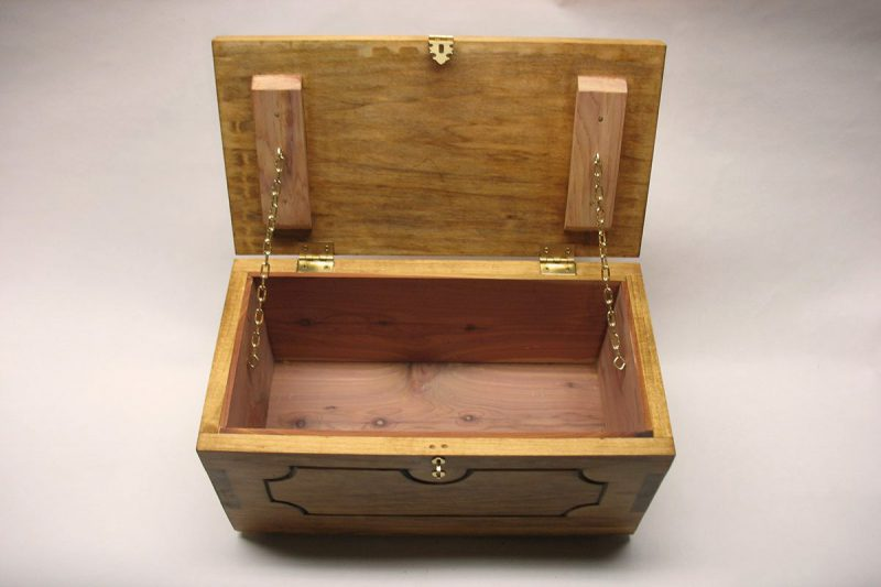 Leavenworth Keepsake Chest - Top view