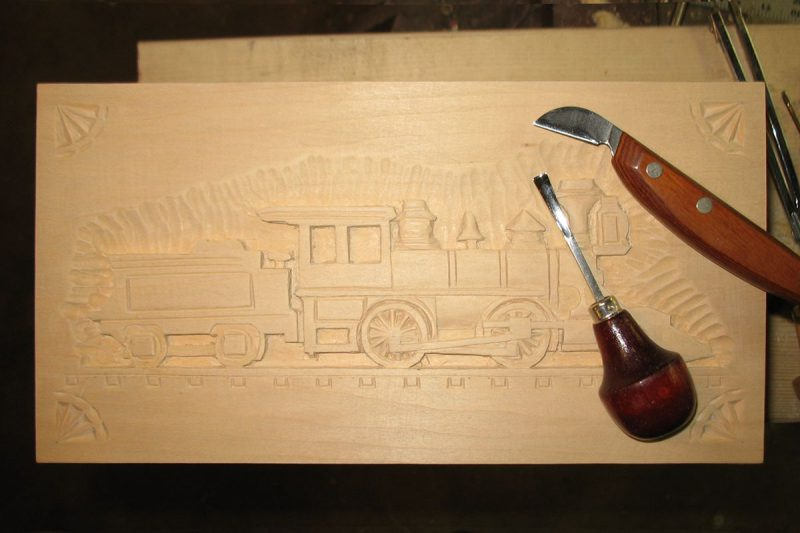 Leavenworth Keepsake Chest relief