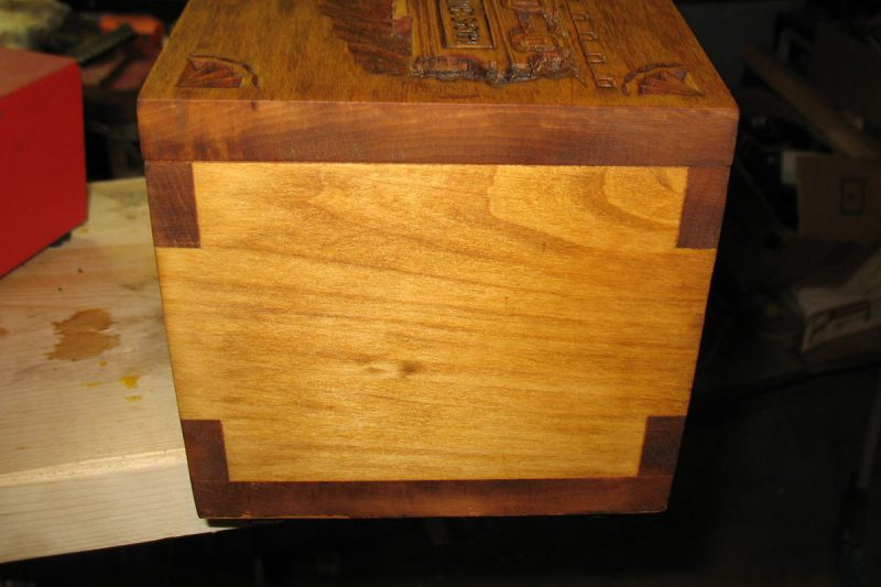 Leavenworth Keepsake Chest - Side view